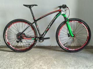 "bicicleta MTB Megamo Factory 29"" carbono talla M"