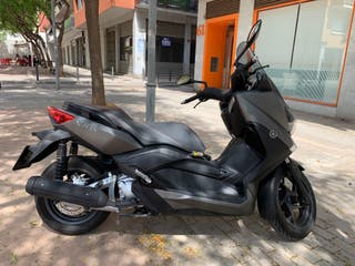 yamaha xmax 250 ABS - black mate - 2016 5800km