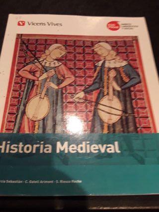 Libro de historia medieval
