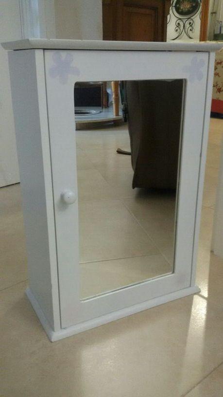 mueble baño de colgar con espejo