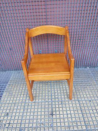 sillon de madera