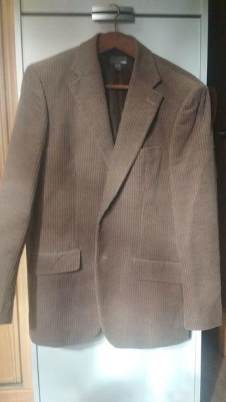 chaqueta de pana caballero. talla 52