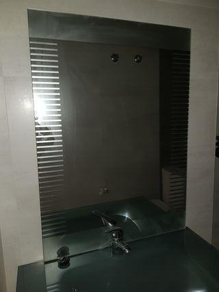 espejo baño nuevo