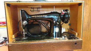Maquina de coser portátil eléctrica