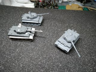 Tigers IE flames of war x3