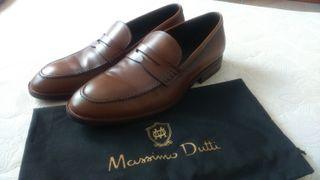 Mocasines Massimo Dutti T. 44 ¡Totalmente Nuevos!