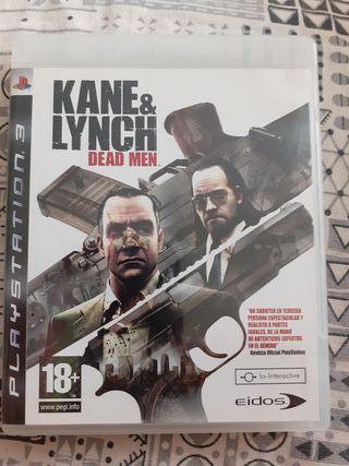 KANE & LYNCH. DEAD MEN PS3