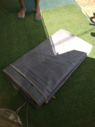 lona para techo caravana