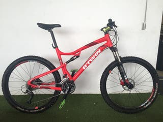 Bicicleta Montana Rockrider 540S, doble suspension