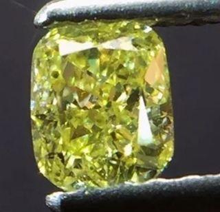 Diamante fancy amarillo