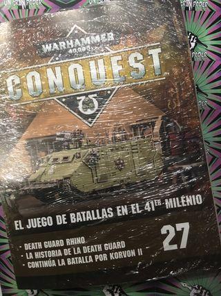 WARHAMMER CONQUEST #19 CHAOS RHINO