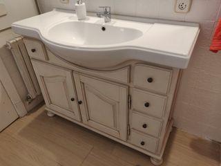 Armario de baño + Espejo