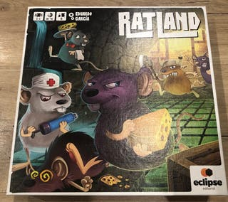 Ratland + miniaturas ratas