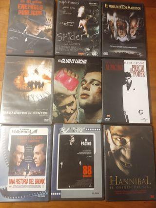 Colección de películas originales en DVD