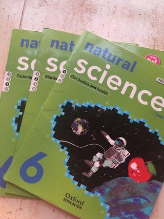 Natural Science 6 primaria Oxford libro de texto