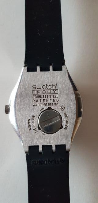 talla 40 95b87 12863 Reloj Swatch Irony de segunda mano en Madrid en WALLAPOP