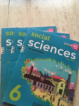 Social science 6 primaria. Oxford libro de texto