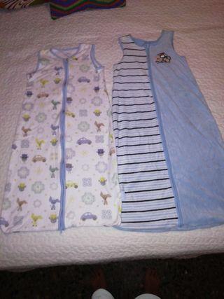 Sacos de dormir bebé. De 90 cm a 1 m