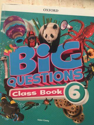 Big questtions 6 primaria Oxford . Libro texto