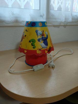 Lámpara infantil Disney bajo consumo tacto frio