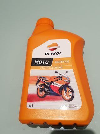 Aceite sintético 2T Moto Repsol