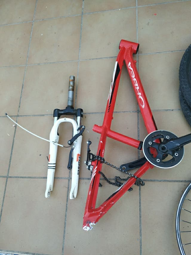 bici orbea talla s/m