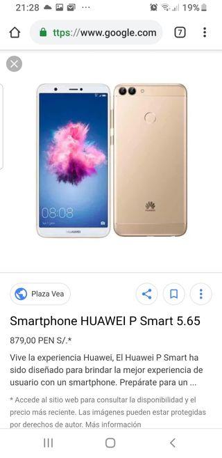 huawei p smart gold oro