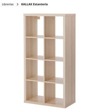 Kallax estantería IKEA