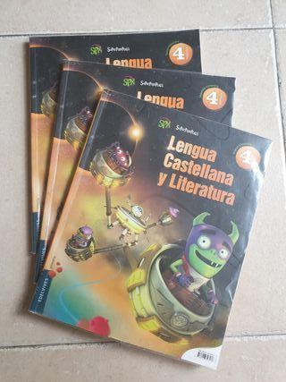 libro 4 primaria. lengua.