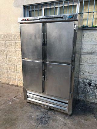 Armario vertical frigorífico inox