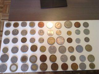 Coleccion de monedas del mundo