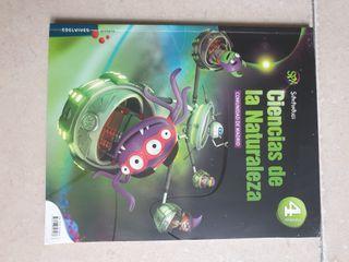 libro 4 primaria. ciencias de la naturaleza