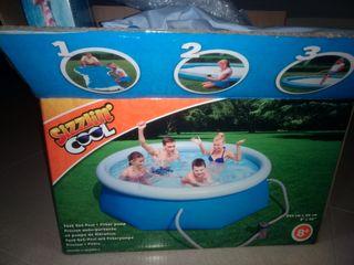 piscina jardin