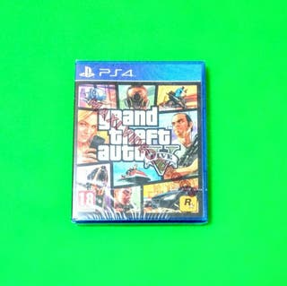 Grand Theft Auto V PRECINTADO / PS4