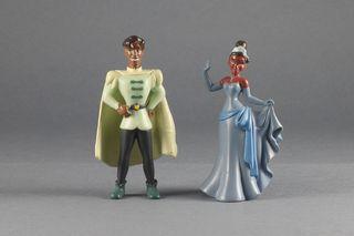 Figuras PVC Disney Tiana y Naveen