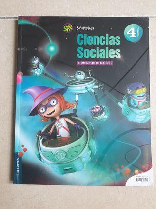 libro 4 primaria. ciencias sociales