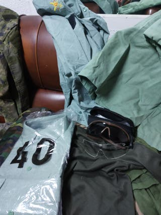 Lote ropa militar ejercito