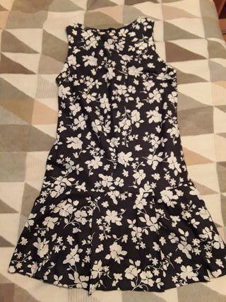 Vestido estampado Camaieu