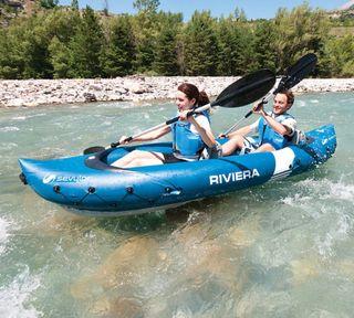 kayac, canoa hinchable