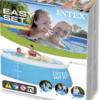 Piscina hinchable Intex nueva.
