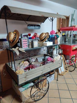 carrito candy bar venta o alquiler