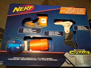 NUEVO Modulus Nerf kit agente secreto