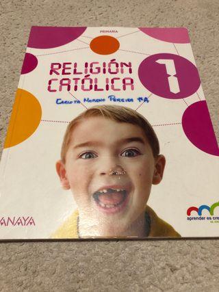 libro religion 1° primaria