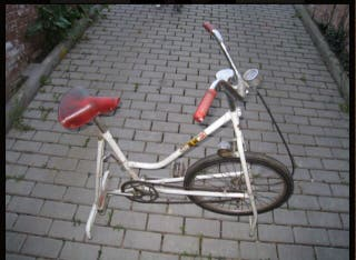 Bicicleta estatica vintage