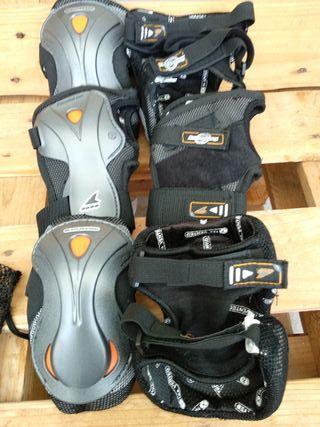 Protecciones Rollerblade set de 3protec. XL