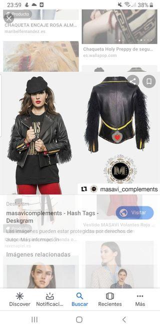 HOY chaqueta piel masavi