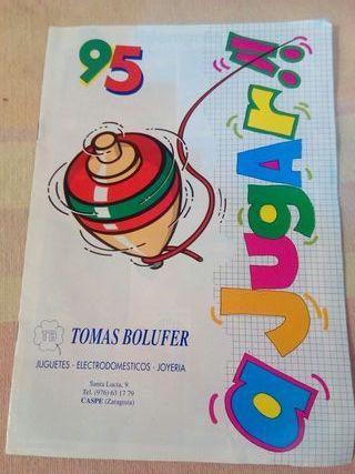 Catalogo de juguetes años 90