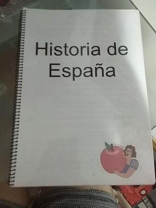 apuntes historia de España 2 bachillerato