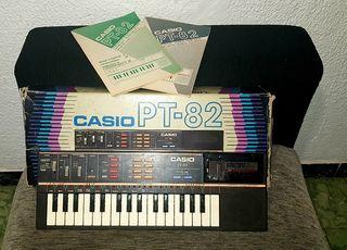 ORGANO MUSICAL CASIO PT-82 ROM.