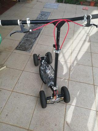 patinete oxelo modificado